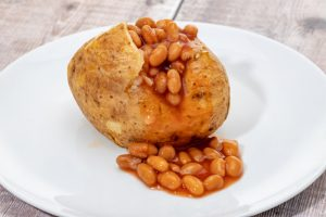 Baked Potato With Beans