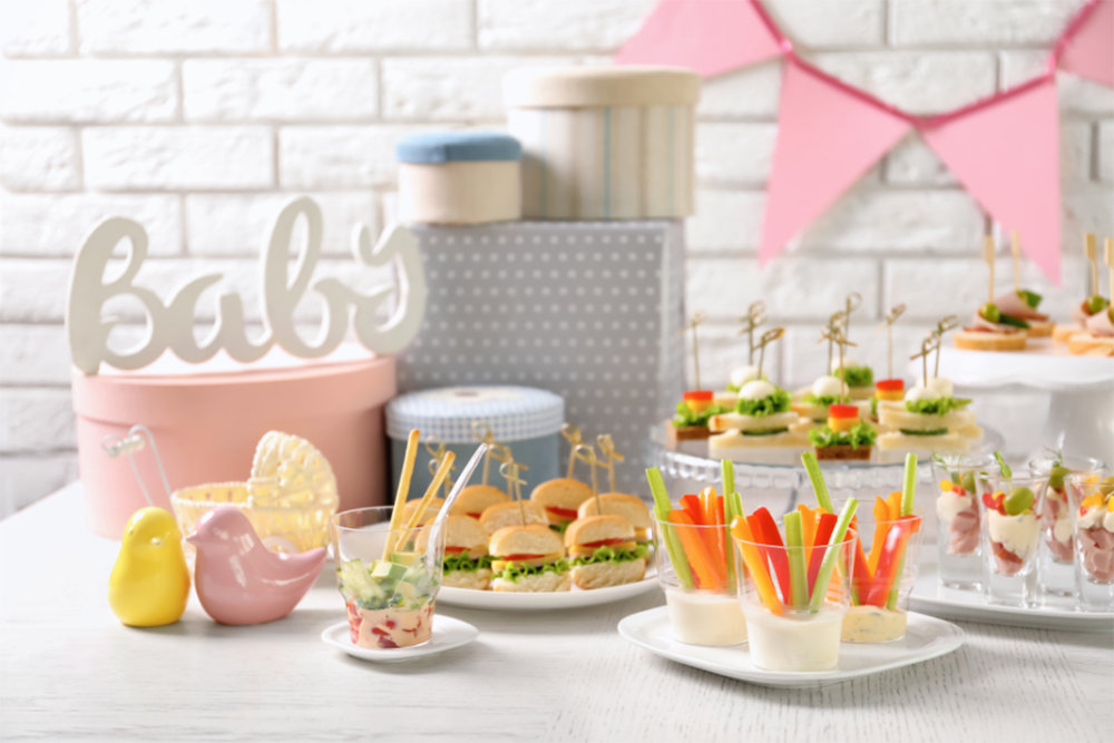 Food To Serve At A Baby Shower Party